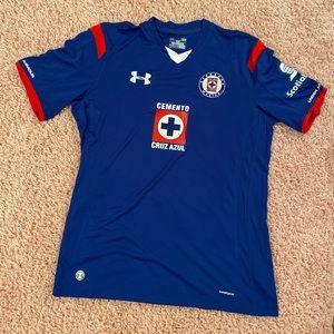 Under Armour Shirts - Cruz Azul Jersey